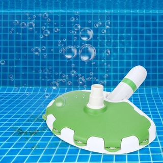 Pond Sewage Suction Head Swimming Pool Underwater Remover Vacuum Brush Cleaning Tool with Wheel