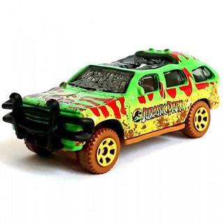 Xe mô hình Matchbox '93 Ford Explorer Jurassic Park (Crushed) GDP07A