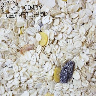 Yến mạch nguyên hạt dẹt dinh dưỡng cho Hamster mẹ và con, Sóc Bông, Sóc Đất, Sóc Bay Úc... thumbnail