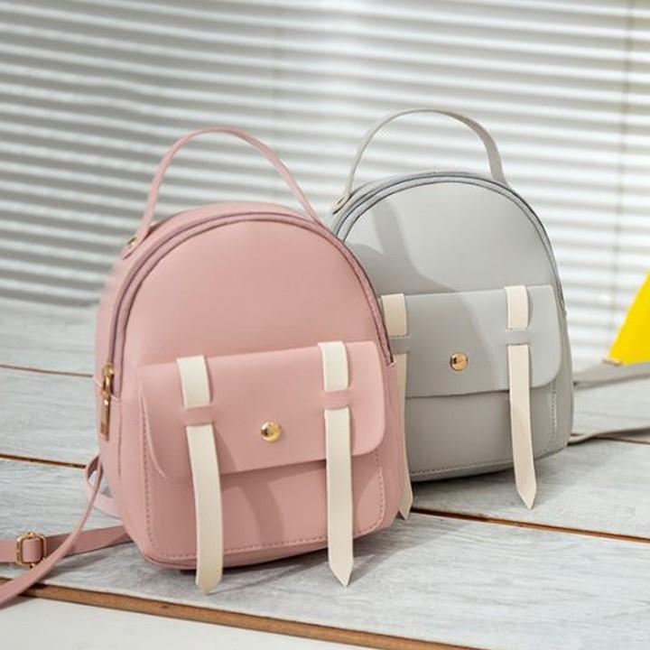 Ba lô mini thời trang nhiều màu Hàn Quốc kiểu dáng cute BL806