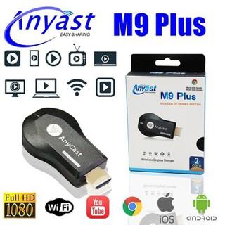 [Mã ELFLASH5 giảm 20K đơn 50K] Thiết bị đồng bộ từ điện thoại lên tivi - Anycast M9 Plus Yehua