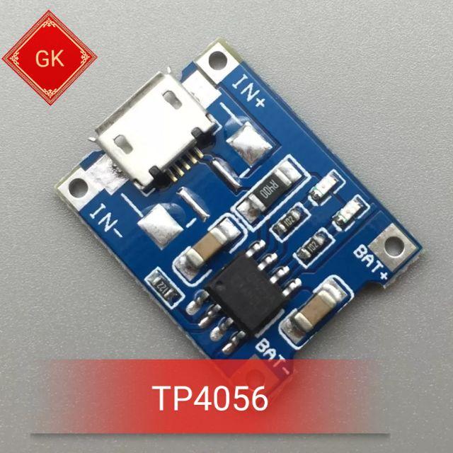 TP4056 - mạch sạc pin 18650. Mạch bảo vệ pin. - 3592329 , 1243221045 , 322_1243221045 , 6500 , TP4056-mach-sac-pin-18650.-Mach-bao-ve-pin.-322_1243221045 , shopee.vn , TP4056 - mạch sạc pin 18650. Mạch bảo vệ pin.