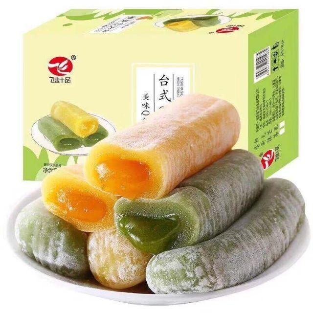 Thùng Bánh Mochi Dài Mix 3 Vị 800Gr