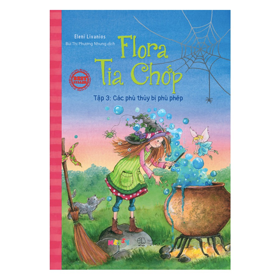 [ Sách ] Flora Tia Chớp - Tập 3: Các Phù Thuỷ Bị Phù Phép