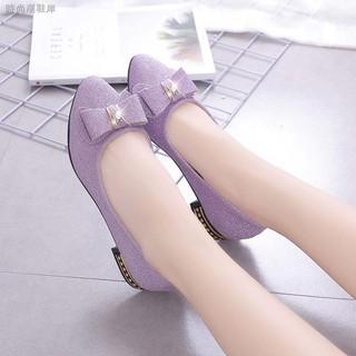Giày búp bê đế xuồng mềm thời trang công sở thanh lịch