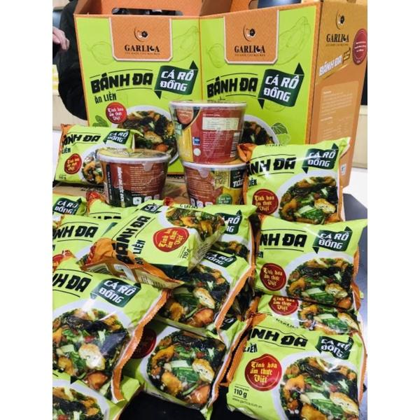 Bánh đa cá rô đồng ăn liền Garlica (Hà Đông -  Hà Nội)