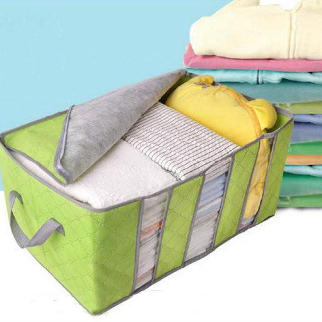 Túi đựng quần áo 3 ngăn siêu bền dễ dàng gấp gọn khi không sử dụng - 14762111 , 2105687486 , 322_2105687486 , 55000 , Tui-dung-quan-ao-3-ngan-sieu-ben-de-dang-gap-gon-khi-khong-su-dung-322_2105687486 , shopee.vn , Túi đựng quần áo 3 ngăn siêu bền dễ dàng gấp gọn khi không sử dụng