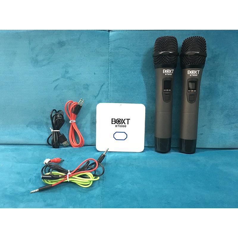 Bộ chuyển Karaoke đa năng kèm micro BOXT BT6000 - biến loa thường thành loa karaoke (đen) - 2563729 , 960649820 , 322_960649820 , 3499000 , Bo-chuyen-Karaoke-da-nang-kem-micro-BOXT-BT6000-bien-loa-thuong-thanh-loa-karaoke-den-322_960649820 , shopee.vn , Bộ chuyển Karaoke đa năng kèm micro BOXT BT6000 - biến loa thường thành loa karaoke (đen