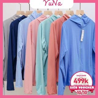 Áo chống nắng nữ Maika thông hơi vải kim cương siêu mát phụ kiện thời trang nữ YUNA