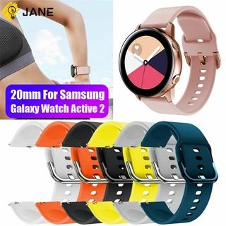 AMAZFIT Dây Đeo Silicone Mềm 20mm Cho Đồng Hồ Thông Minh Samsung Galaxy Active 2 (42Mm)