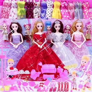 Bộ Đồ Chơi Búp Bê Barbie Xinh Xắn