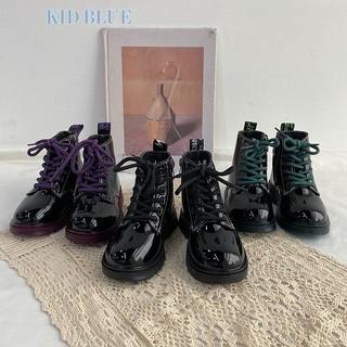 Giày bốt cổ cao phong cách Hàn Quốc hợp thời trang cho bé gái thumbnail