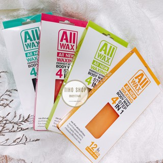 Wax Lông Dạng Miếng All Wax All New Perfect Strips Body Wax 4 Step In 1 thumbnail