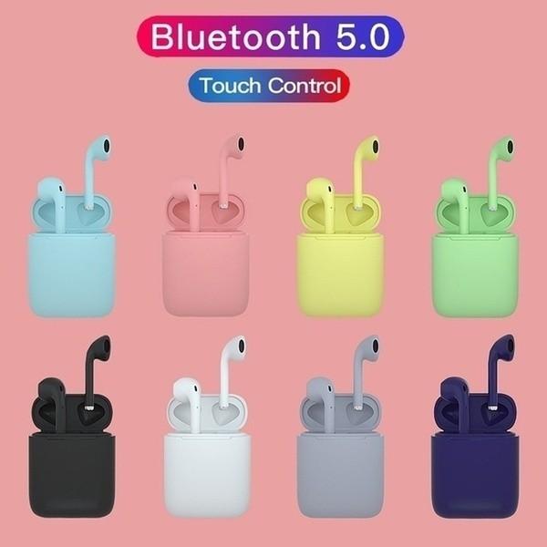 Tai nghe bluetooth 5.0 inpod 12 cảm biến vân tay nhiều màu