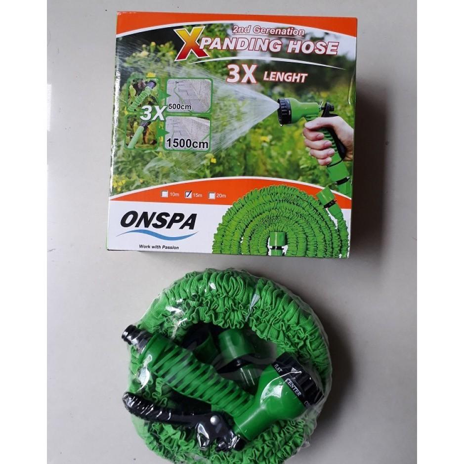 Vòi xịt tưới cây thông minh 2nd Generation Onspa 15m (Xanh)