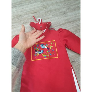 áo dài hoa cho bé hàng chuẩn loại 1 nhà dungkids