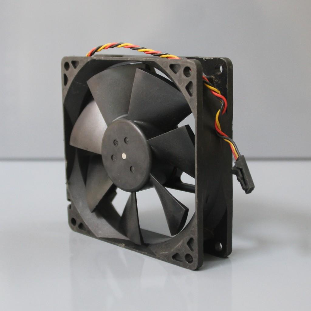 Quạt bi Nidec 9cm 0.5a bóc máy (Dual ball bearing - 2 vòng/ổ bi) fan tản nhiệt máy tính 12v