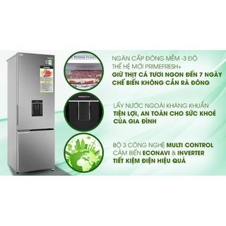 Tủ lạnh Panasonic Inverter 322 lít NR-BV360WSVN MẪU 2020