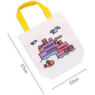 Túi xách tô màu vẽ bằng vải dệt cho bé đồ chơi Simbaba cho trẻ em 3-5 tuổi tập tô màu sáng tạo 3