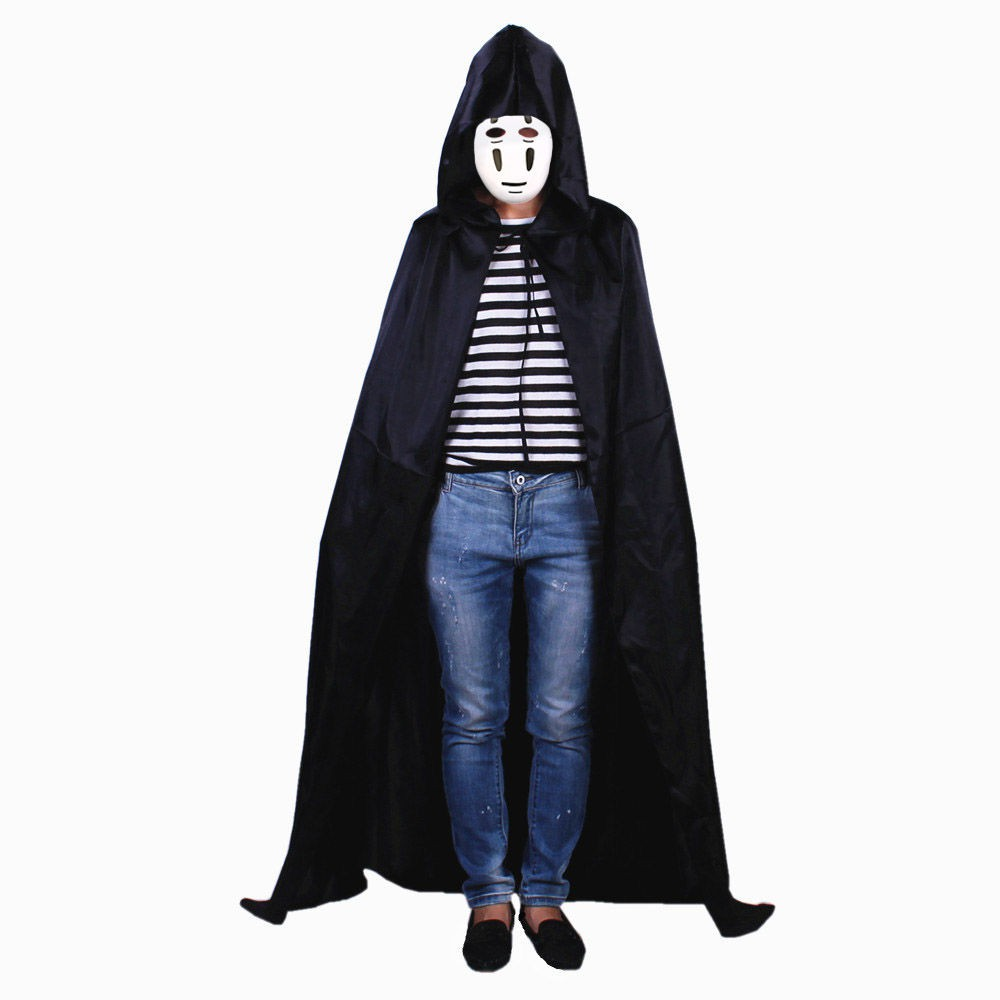 ▦❐Japanese anime spirited away mask without face horror show man cosplay Halloween