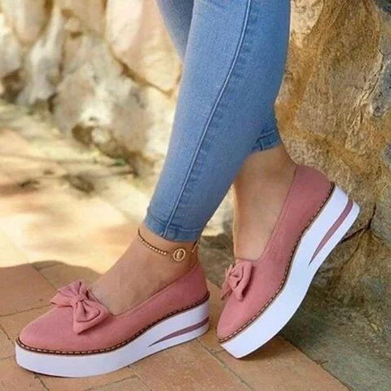 Giày Búp Bê Đế Dày Thời Trang Hàn Cho Nữ