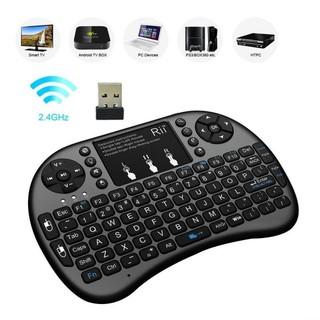 (Miễn Phí Vận Chuyển HN & HCM) Chuột Bay Kiêm Bàn Phím Không Dây UKB500 Cho Smart Tivi & Android Box