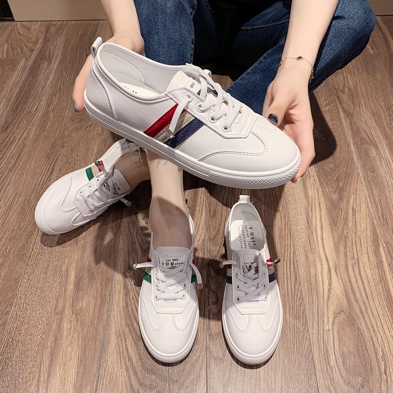 Giày Thể Thao Vải Bạt Thời Trang Hàn Cho Nữ 2020