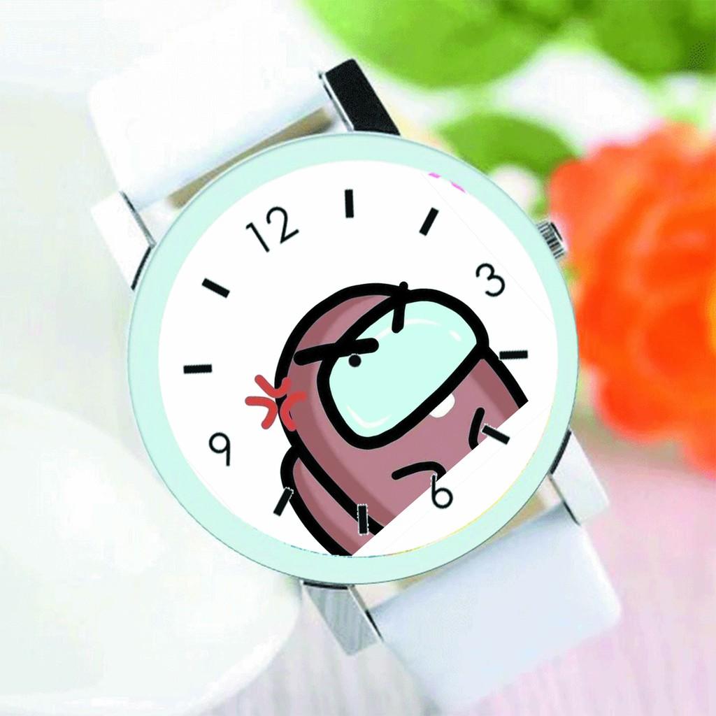 Đồng hồ đeo tay nam nữ in hình BTS Chibi Shooky