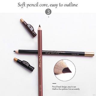 [Hàng mới về] Bút kẻ chân mày kèm đồ gọt bút tiện dụng dễ sử dụng thumbnail