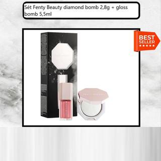 Sét Fenty Beauty diamond bomb 2,8g + gloss bomb 5,5ml thumbnail