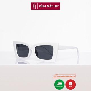 Kính mát nữ Lilyeyewear mắt mèo chống UV400, chất liệu nhựa chắc chắn - 5191