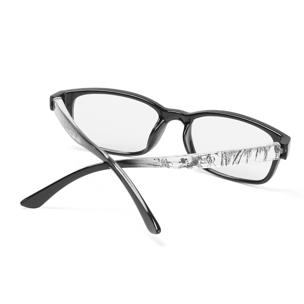 🌵CACTU🌵 +1.0~+4.0 Presbyopia Eyeglasses High-definition Hyperopia Eyewear Reading Glasses Reduces Eye Strain PC AC With Diopter Resin Lens Spectacle Frames/Multicolor