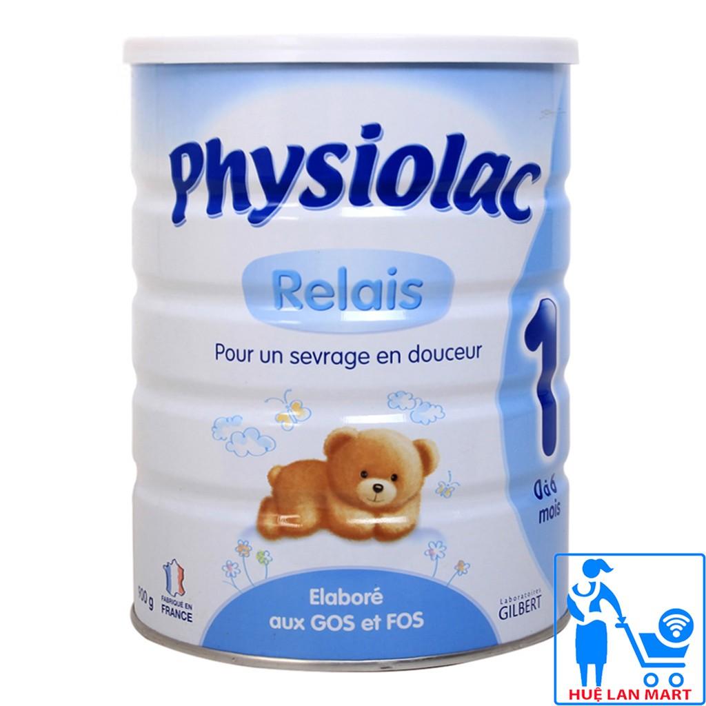 [CHÍNH HÃNG] Sữa Bột Physiolac 1 Relais Hộp 900g (Cho bé 0-6 tháng