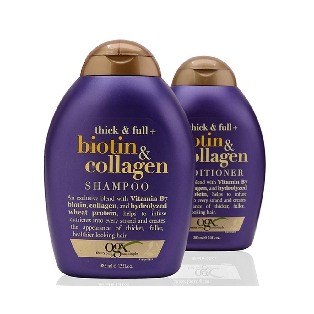 Bộ dầu gội, xả chống rụng và kích thích mọc tóc Thick & Full Organix Biotin & Collagen của Mỹ - 2952444 , 831468396 , 322_831468396 , 450000 , Bo-dau-goi-xa-chong-rung-va-kich-thich-moc-toc-Thick-Full-Organix-Biotin-Collagen-cua-My-322_831468396 , shopee.vn , Bộ dầu gội, xả chống rụng và kích thích mọc tóc Thick & Full Organix Biotin & Collagen