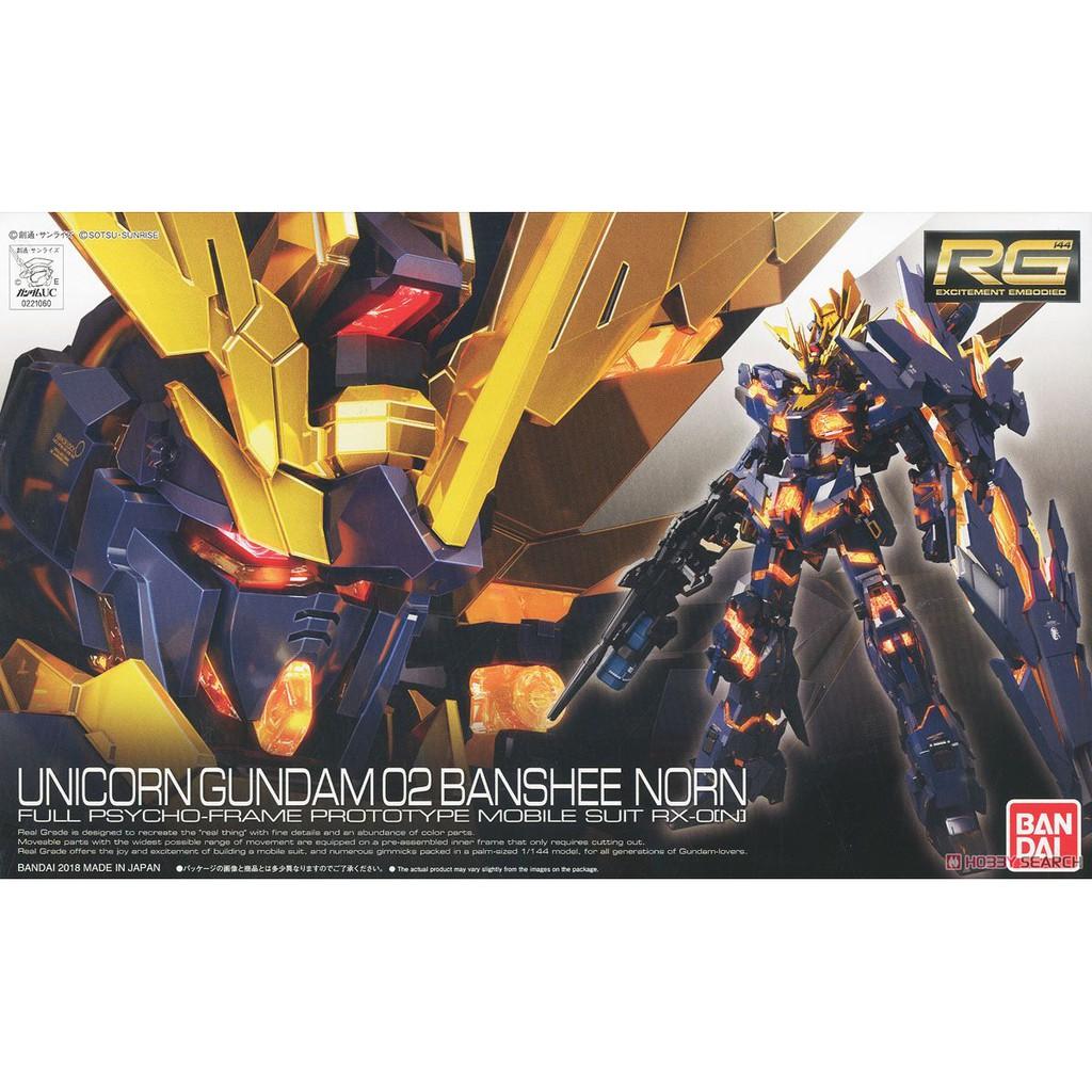 Mô hình Gundam RG27 Unicorn Banshee Norn