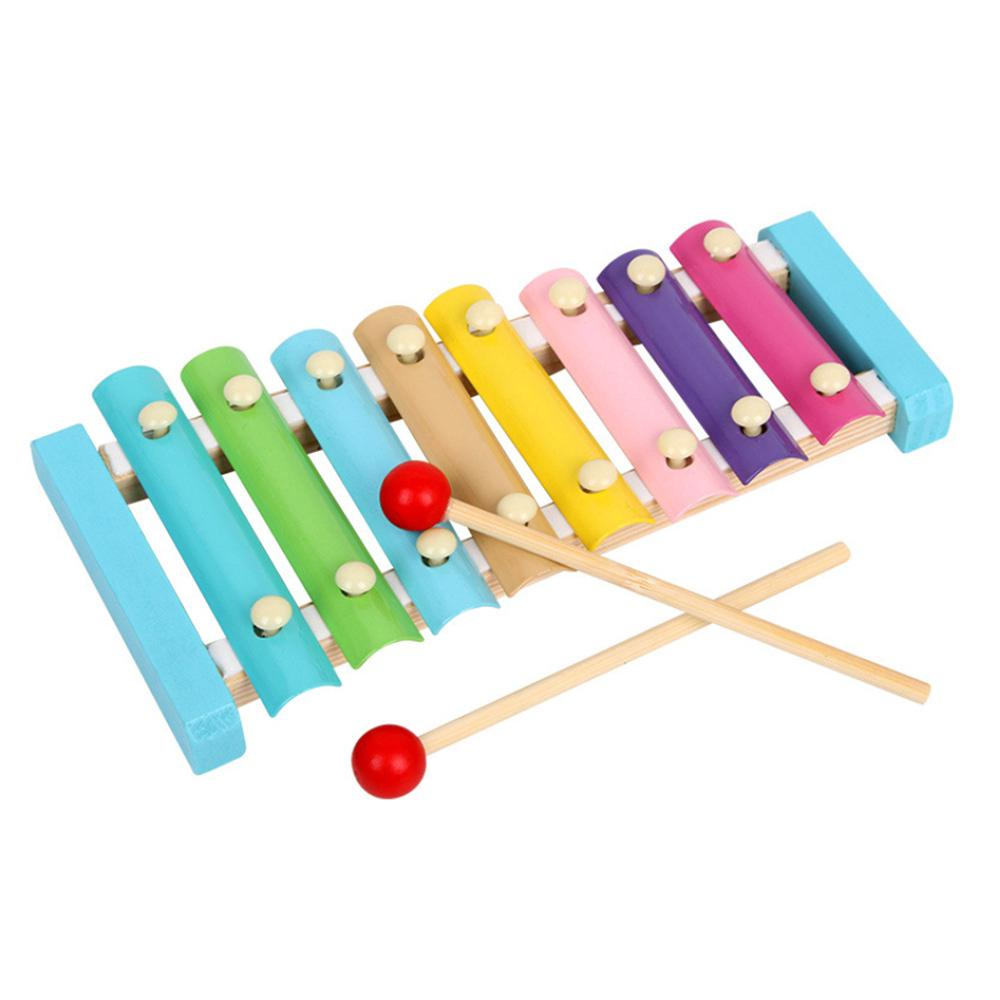 Music Instrument Toy Wooden Frame Xylophone Children Musical Funny Toys Educational Toys Gifts