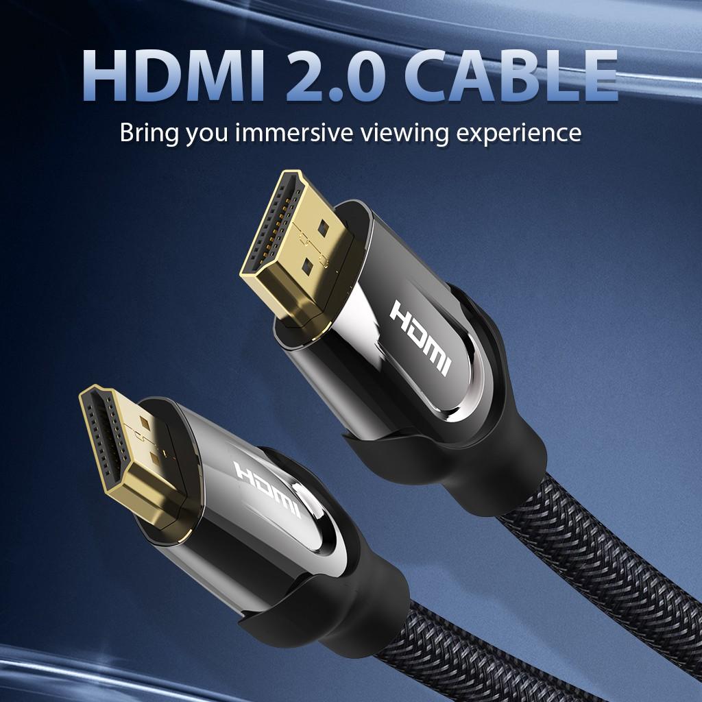 Cáp HDMI 2.0 VENTION 4k 3DHD tiện dụng cho màn hình LCD/ laptop/ máy chiếu/ máy tính