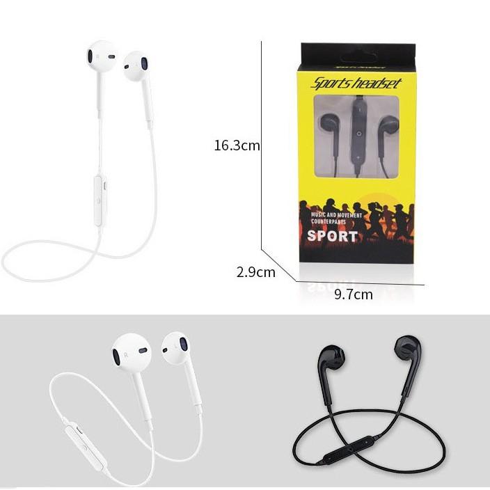 Tai Nghe Bluetooth Thể Thao S8 2 Tai