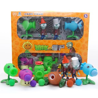 Figure mô hình đồ chơi hoa quả và zombies – Plants vs Zombies ( Hoa quả nổi giận )