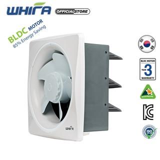 Quạt Hút – Quạt Thông Gió Hút Mùi Gắn Tường WHIFA Model VTS-20WI (A) Màu Trắng – Hàng Nhập Khẩu