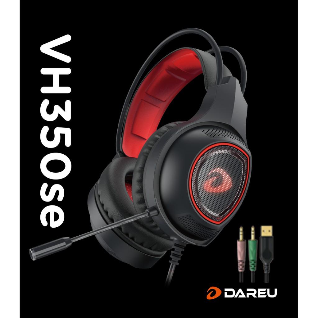 [Mã ELMAR27 giảm 7% đơn 300k] Tai Nghe DAREU VH350se (Jack USB + 3.5)