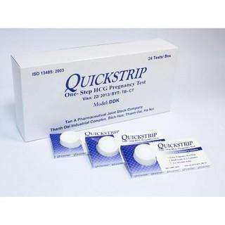 Combo 3 hộp test thử thai quicktrip