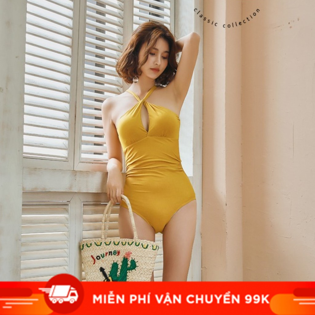 🍁 Bộ Đồ Tập Bơi Đi Tắm Biển Nữ Bikini 1 Mảnh (Set Áo Liền Quần) 8090 - Cửa Hàng Việt Nam