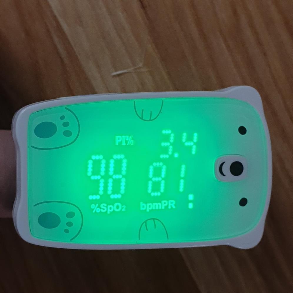 Máy đo nồng độ oxy máu và nhịp tim, chỉ số PI Jumper JPD-500H (Chứng nhận FDA Hoa Kỳ + xuất USA) Spo2 beurer microlife