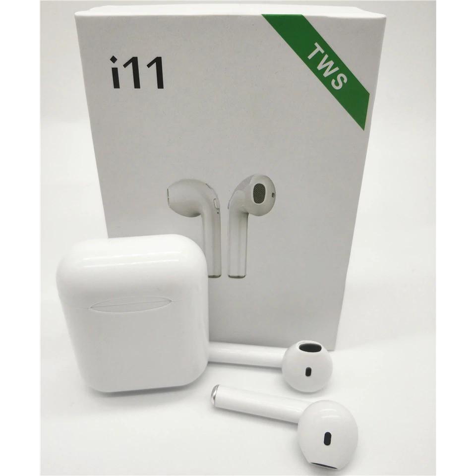 Tai nghe i11 Bluetooth 5.0 cảm ứng vân tay - BH 1 đổi 1
