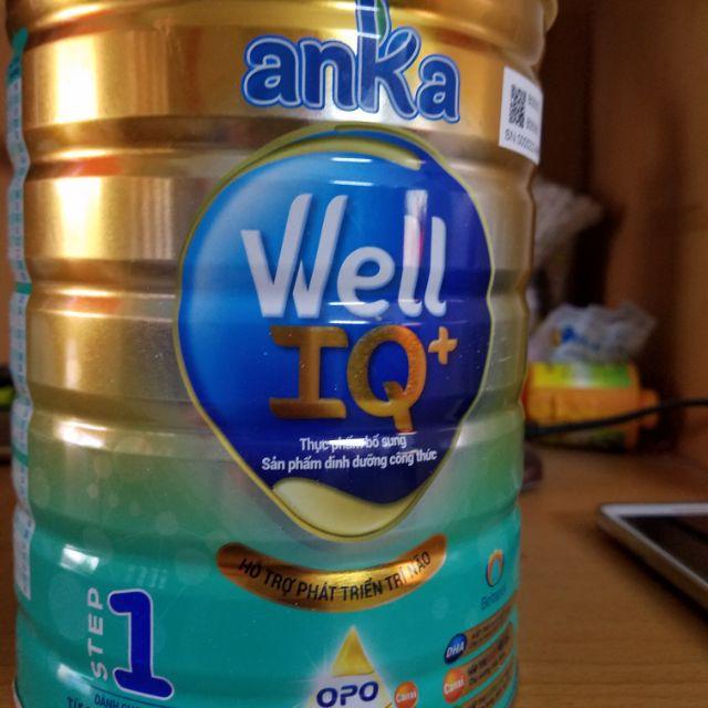 Sữa bột anka well IQ step 1 900gr