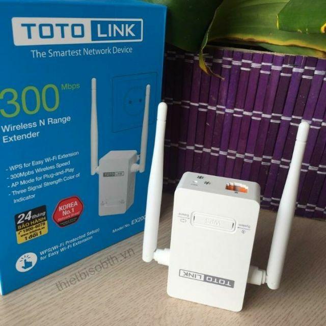 Thiết bị phát wifi repeater TOTOLINK EX200 Phân Phối Chính Hãng - 3514364 , 763809816 , 322_763809816 , 190000 , Thiet-bi-phat-wifi-repeater-TOTOLINK-EX200-Phan-Phoi-Chinh-Hang-322_763809816 , shopee.vn , Thiết bị phát wifi repeater TOTOLINK EX200 Phân Phối Chính Hãng