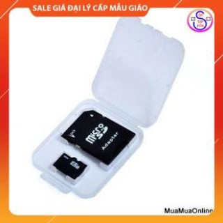 FREESHIP 50K Adapter Thẻ Nhớ Và Hộp Nhựa, Chuyển Đổi Thẻ Microsd Thành Sd