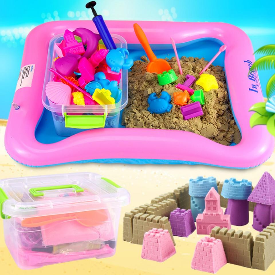 Bộ đồ chơi hình khối cát động lực tặng kèm phao và khuôn an toàn cho bé - 2822144 , 283211323 , 322_283211323 , 95000 , Bo-do-choi-hinh-khoi-cat-dong-luc-tang-kem-phao-va-khuon-an-toan-cho-be-322_283211323 , shopee.vn , Bộ đồ chơi hình khối cát động lực tặng kèm phao và khuôn an toàn cho bé