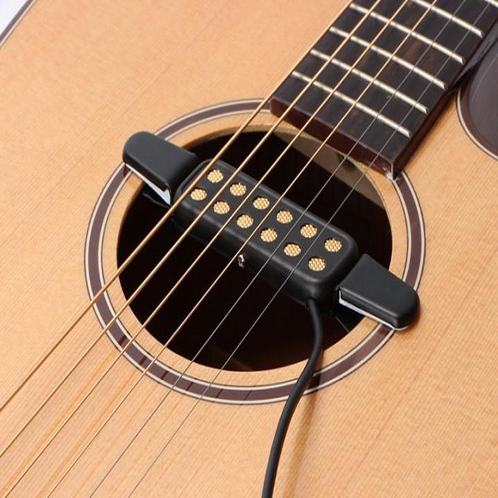 Acoustic Guitar Pickup QH-6A ( Bộ thu âm Guitar ) - Phụ kiện guitar